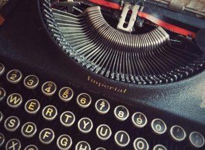 Author-typewriter